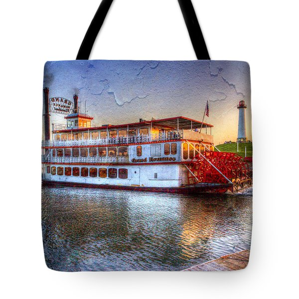Grand Romance Riverboat Tote Bag by Heidi Smith