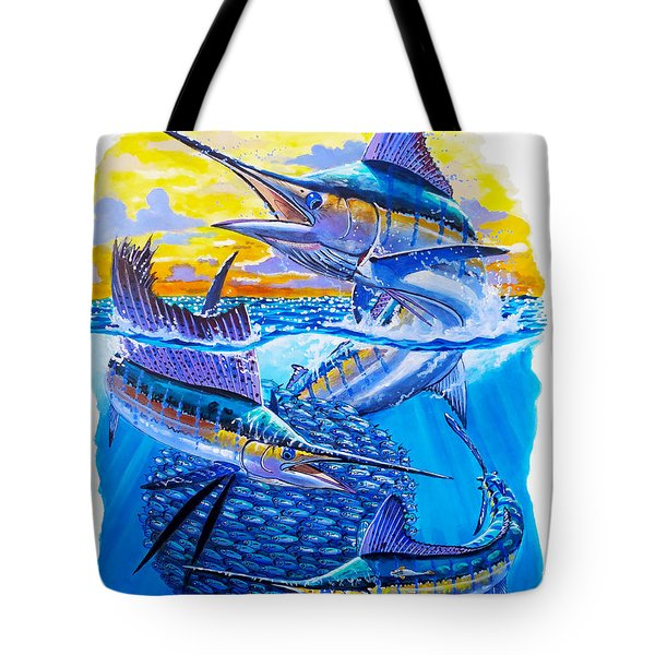 Grand Slam Baitball Tote Bag by Carey Chen
