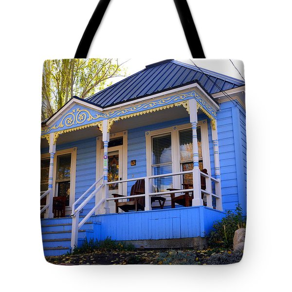 Grandma's House Tote Bag by Jackie Carpenter