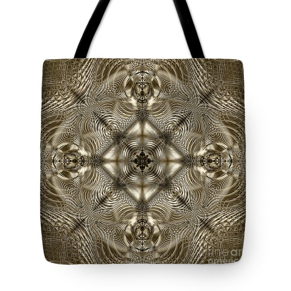 Grandma's Lace Tote Bag by Klara Acel