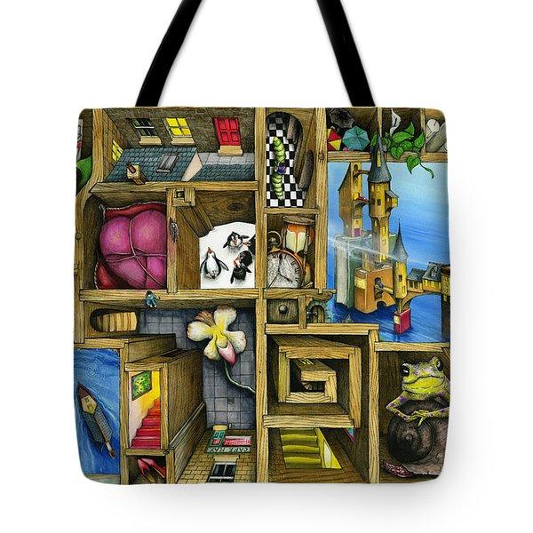 Grandma's Treasure Tote Bag by Colin Thompson