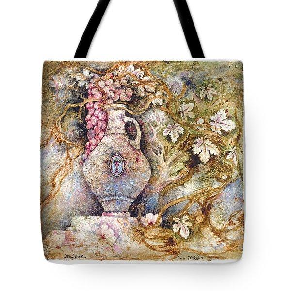 Grapevine Tote Bag by Michoel Muchnik