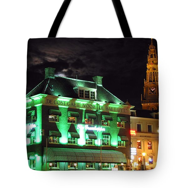 Grasshopper Bar Tote Bag by Adam Romanowicz
