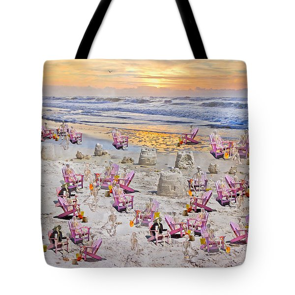Grateful Holiday Tote Bag by Betsy C  Knapp