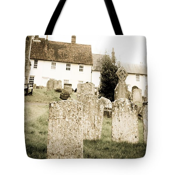 Grave yard Tote Bag by Tom Gowanlock