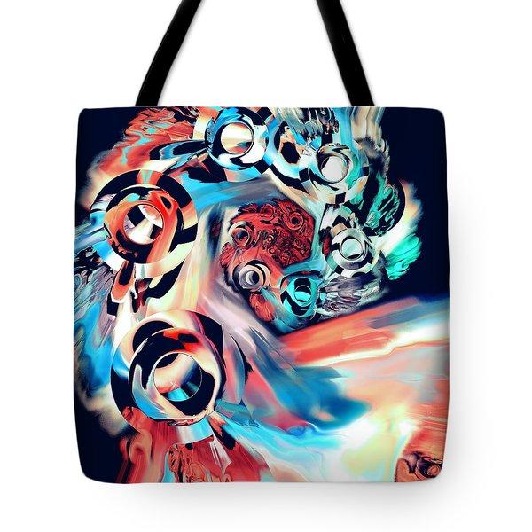 Gravity Well Tote Bag by Anastasiya Malakhova