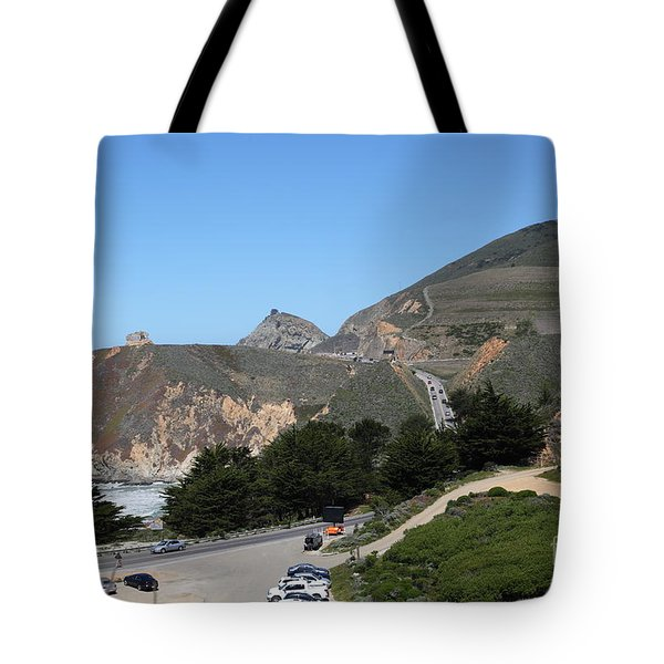 Gray Whale Cove State Beach Montara California 5D22614 Tote Bag by Wingsdomain Art and Photography