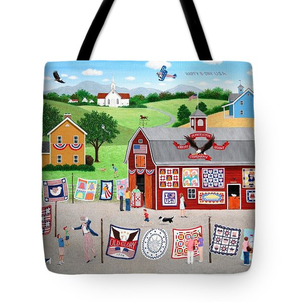 Great American Quilt Factory Tote Bag by Wilfrido Limvalencia
