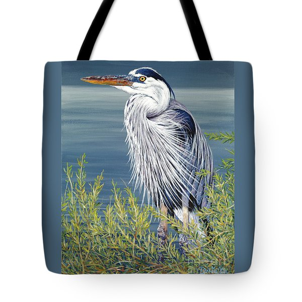 Great Blue Tote Bag by Danielle  Perry