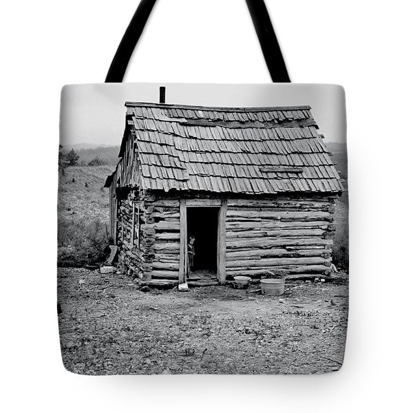 Great Depression Tote Bag by Benjamin Yeager