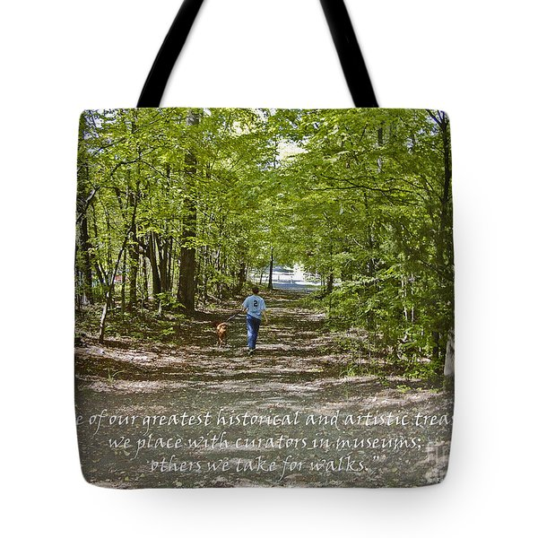Great Treasures Tote Bag by Sandra Clark
