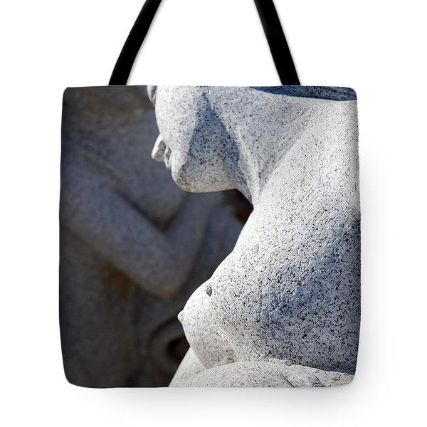 Greek Statues Tote Bag by Antony McAulay