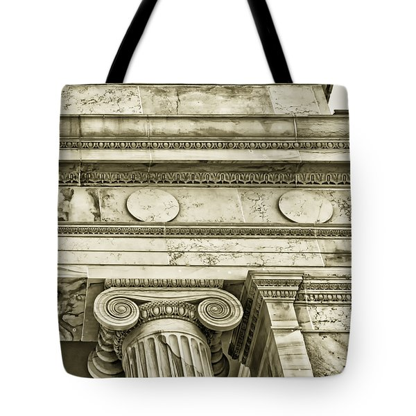 Greek Theatre 5 Golden Age Tote Bag by Angelina Vick