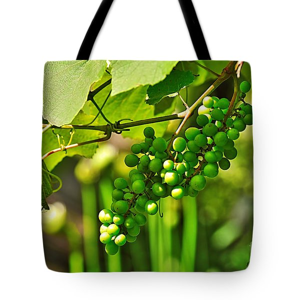 Green Berries Tote Bag by Kaye Menner