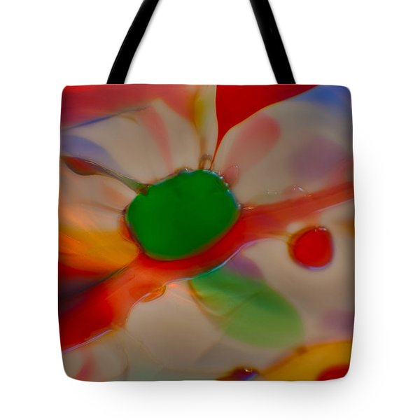 Green Butterfly Tote Bag by Omaste Witkowski