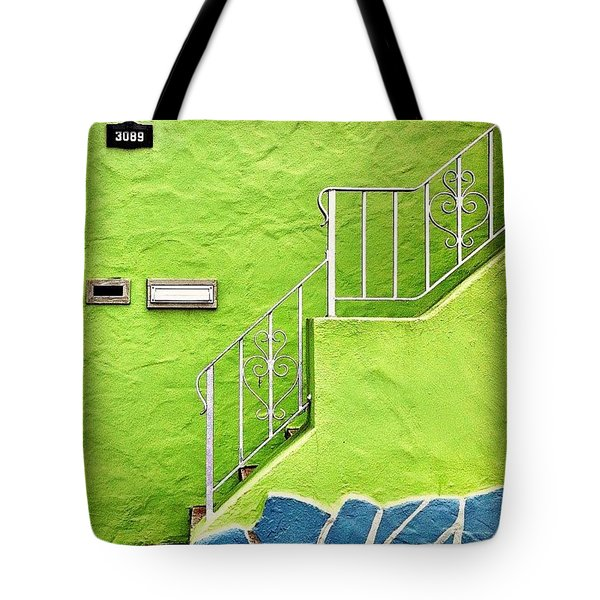 Green House  Tote Bag by Julie Gebhardt