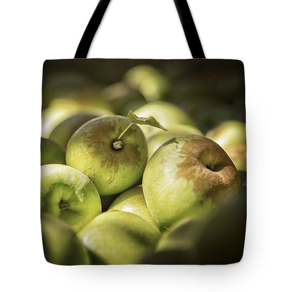 Green Jewels Tote Bag by Caitlyn  Grasso