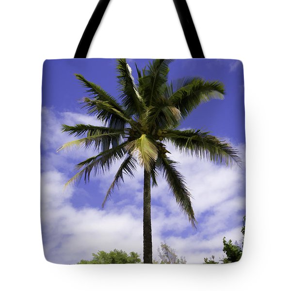 Green On Blue Tote Bag by Joanna Madloch