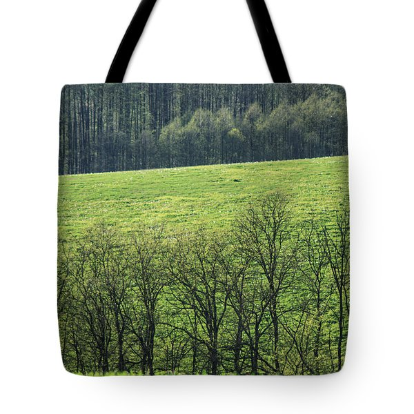 Green peace Tote Bag by Davorin Mance