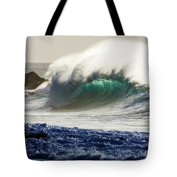 Green Reward Tote Bag by Sean Davey