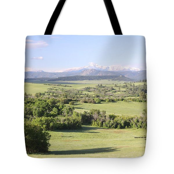 Greenland Ranch Tote Bag by Eric Glaser