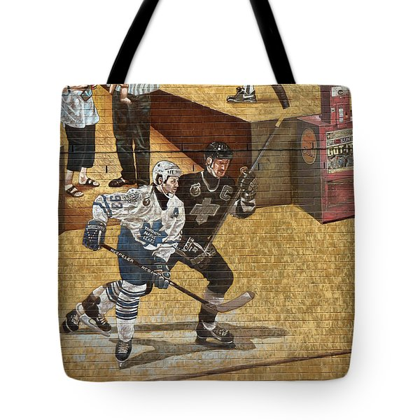 Gretzky And Gilmour 2 Tote Bag by Andrew Fare