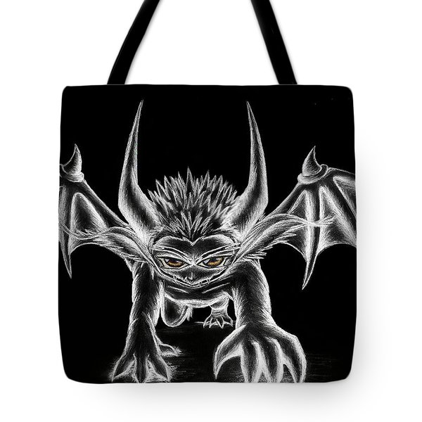 Grevil Chalk Tote Bag by Shawn Dall