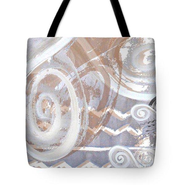 Grey Abstraction 2 Tote Bag by Eva-Maria Becker