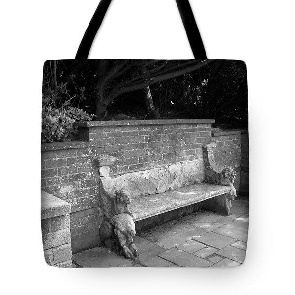 Griffin Bench Tote Bag by Katie Beougher