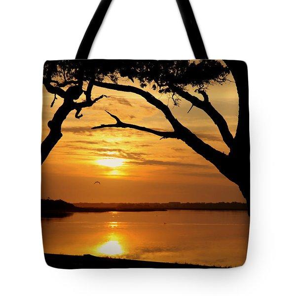 Grow Old Beside Me Tote Bag by Karen Wiles