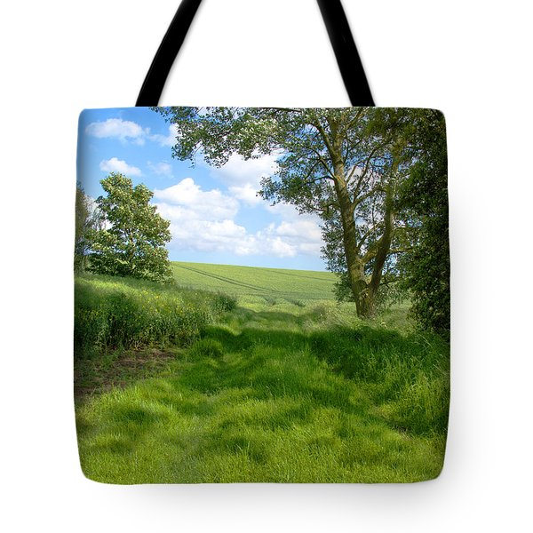 Growing Green Tote Bag by Ann Horn