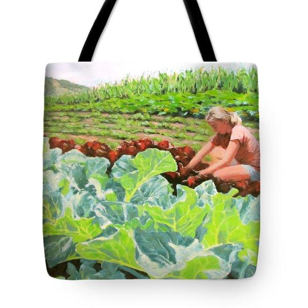 Growing Hope Tote Bag by Karen Ilari