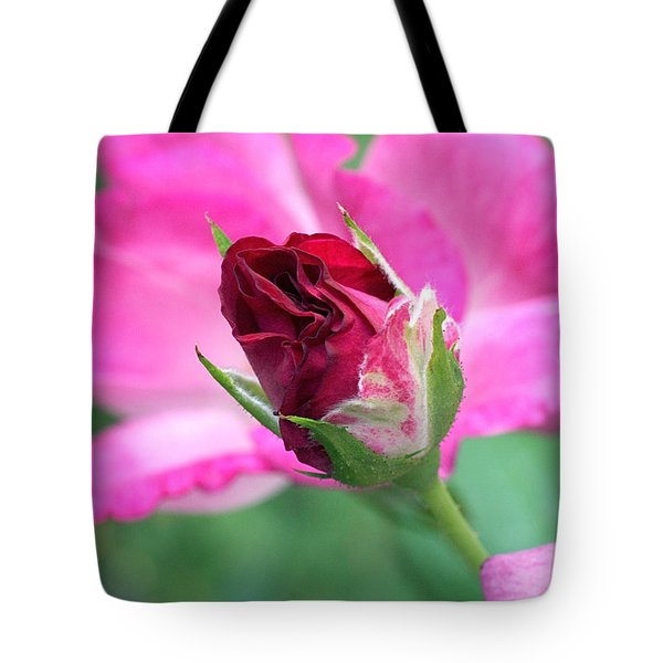 Growing Up Tote Bag by Rona Black