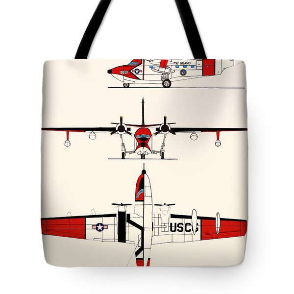 Grumman Hu-16e Albatross Tote Bag by Mountain Dreams