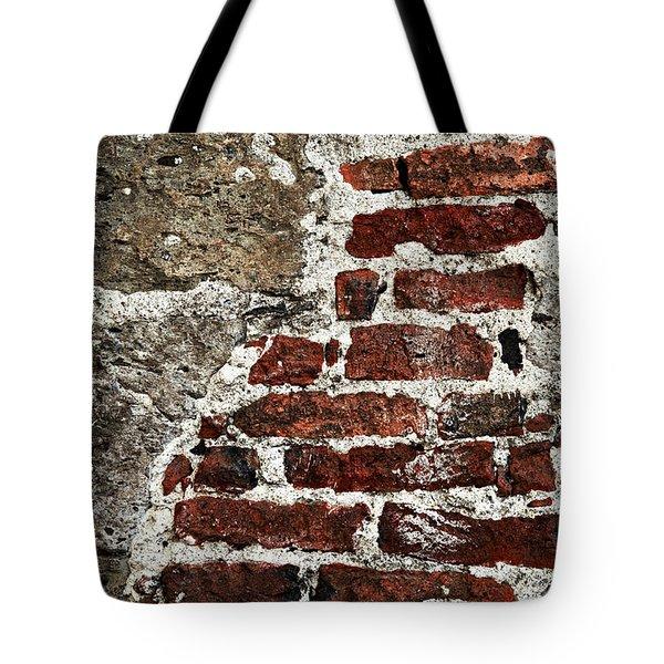 Grunge Brick Wall Tote Bag by Elena Elisseeva