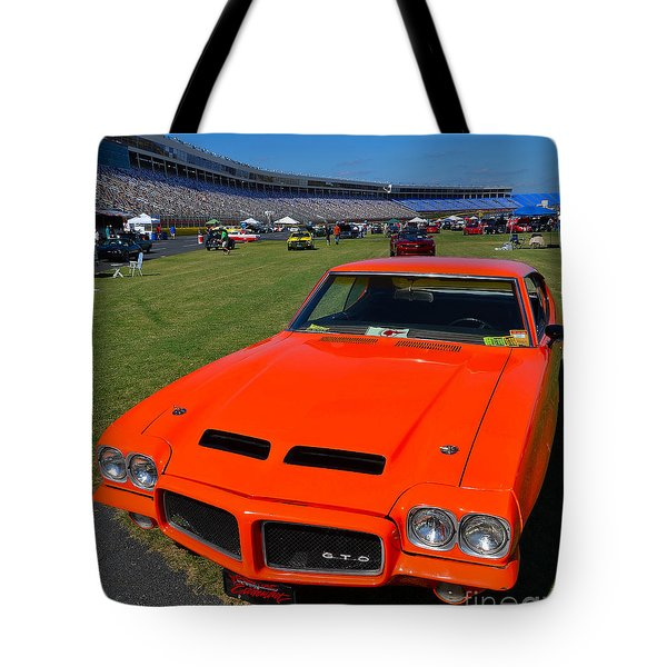 Gto At The Racetrack Tote Bag by Mark Spearman
