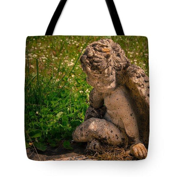 Guardian Angel Tote Bag by Jean Noren