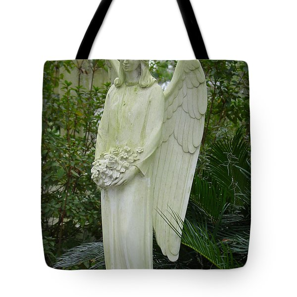 Guardian Angel Tote Bag by Suzanne Gaff