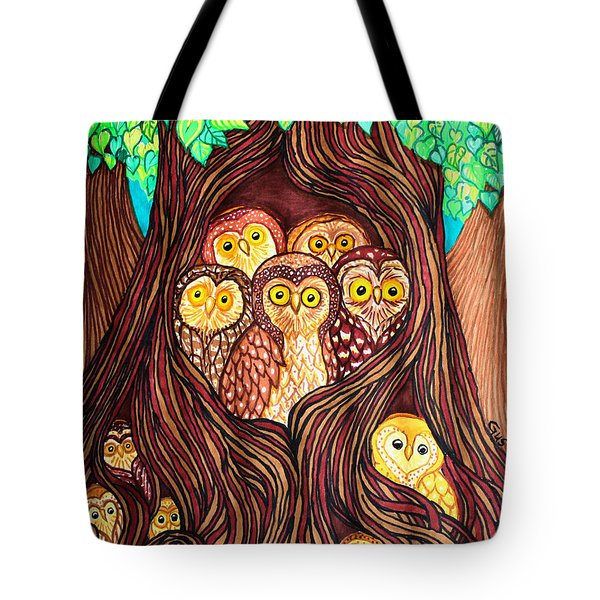 Guardians Of The Forest Tote Bag by Nick Gustafson