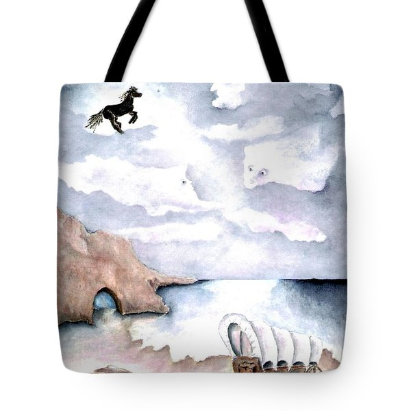 Guardians Tote Bag by Pamela Allegretto
