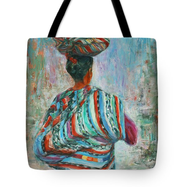 Guatemala Impression I Tote Bag by Xueling Zou