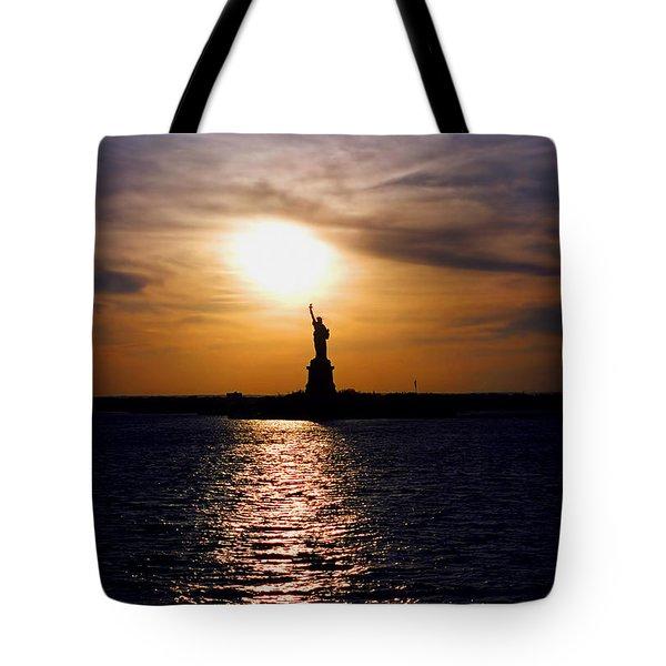 Guiding Light Tote Bag by Joann Vitali
