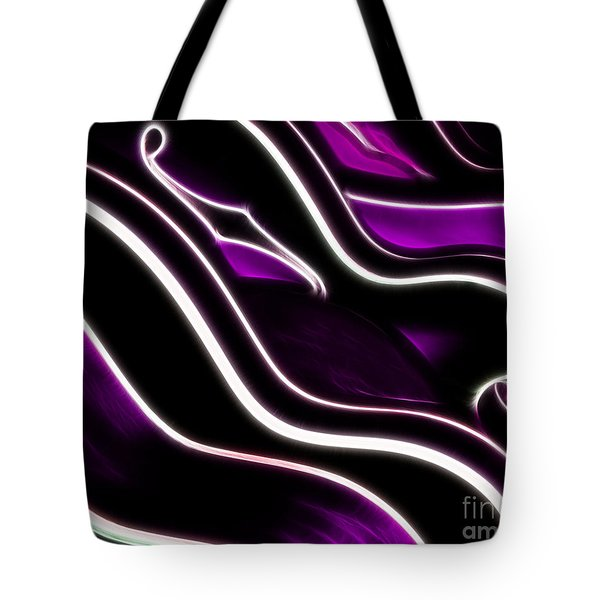 Guitar Curves - 20130119 - V2 Tote Bag by Wingsdomain Art and Photography