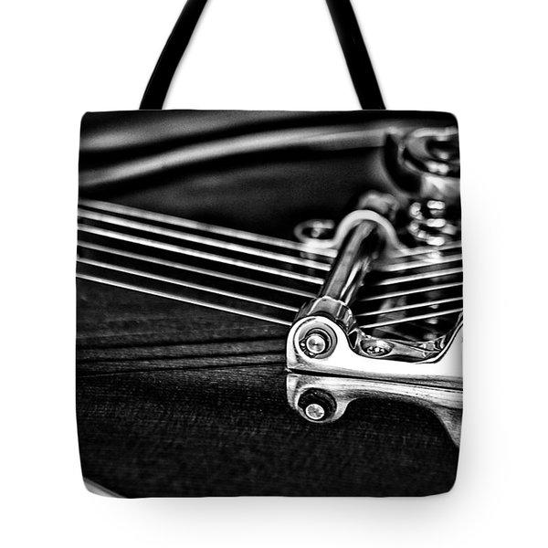 Guitar Reflection Tote Bag by Karol Livote
