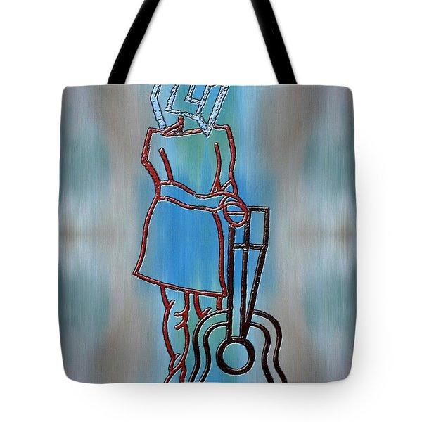 Guitarist Tote Bag by Patrick J Murphy