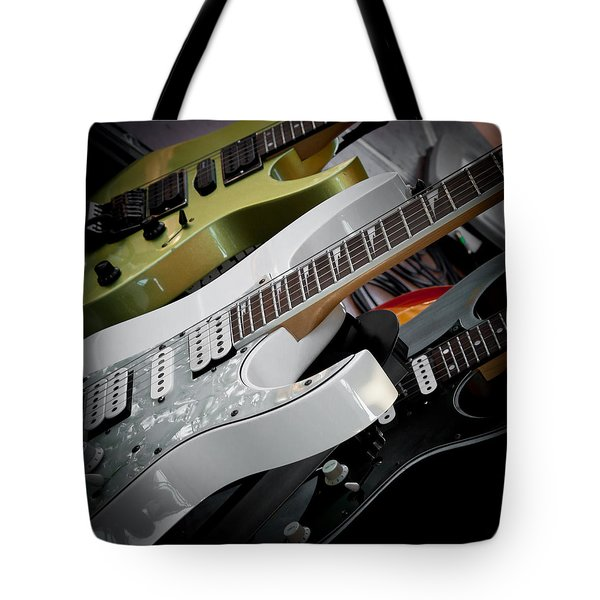 Guitars for Play Tote Bag by David Patterson