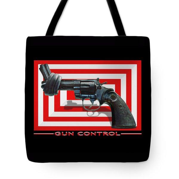 Gun Control Tote Bag by Mike McGlothlen