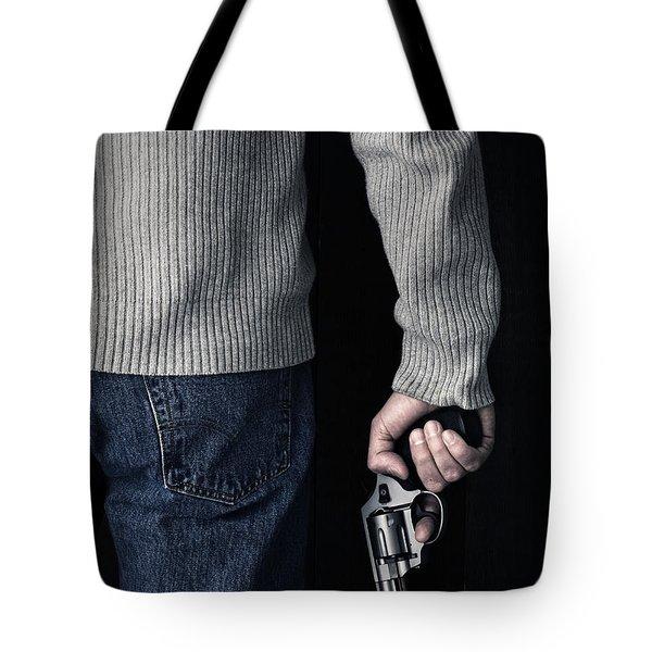 Gun Tote Bag by Edward Fielding