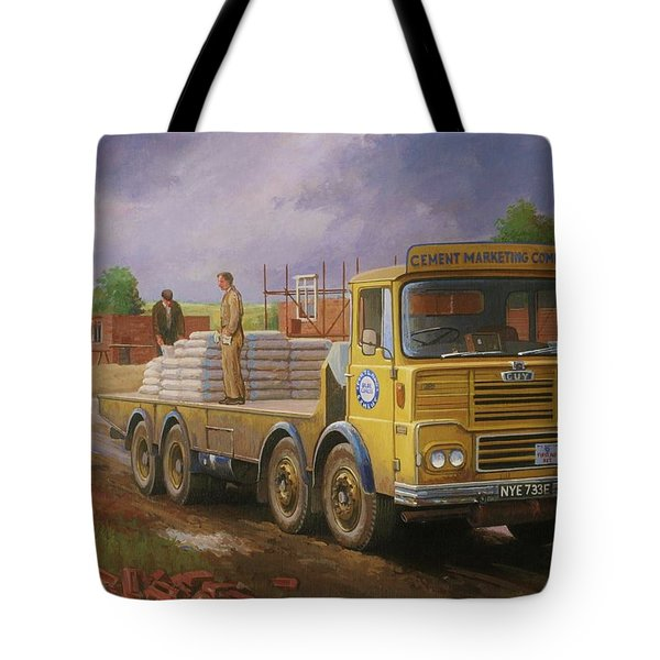 Guy Big J Eightwheeler. Tote Bag by Mike  Jeffries