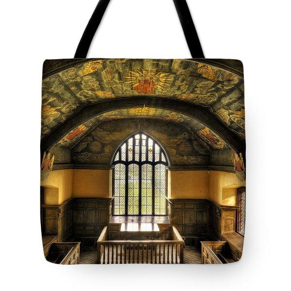 Gwydir Uchaf Chapel Conwy Valley Tote Bag by Mal Bray
